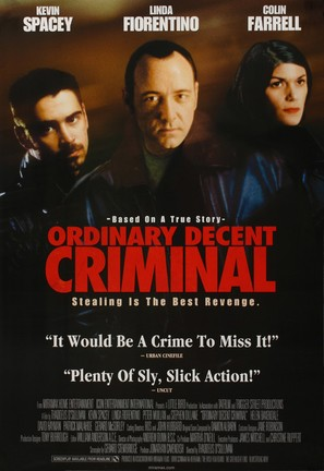 Ordinary Decent Criminal - Movie Poster (thumbnail)