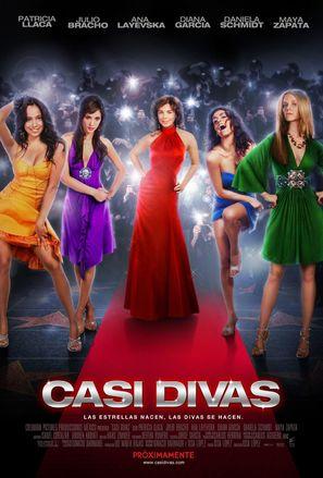 Casi divas - Mexican Movie Poster (thumbnail)