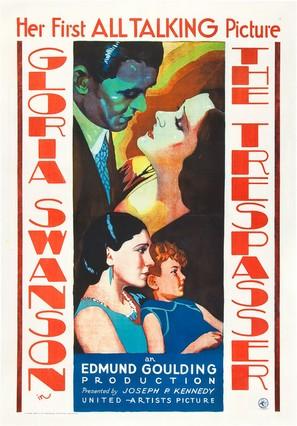 The Trespasser - Movie Poster (thumbnail)