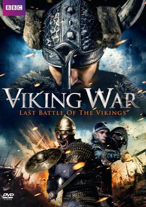 The Viking War - British DVD movie cover (thumbnail)