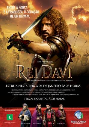 """Rei Davi"" - Brazilian Movie Poster (thumbnail)"