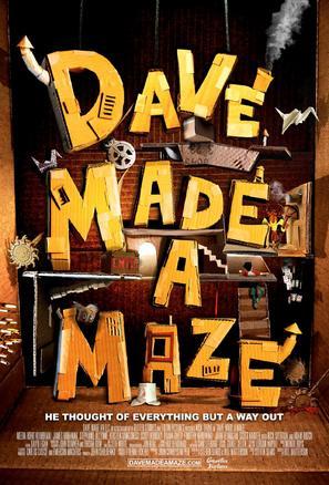 Dave Made a Maze - Movie Poster (thumbnail)