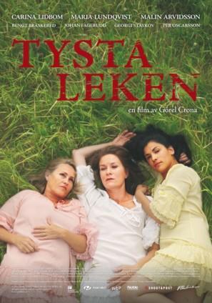 Tysta leken - Swedish Movie Poster (thumbnail)