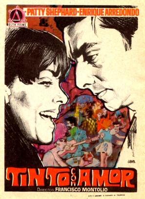 Tinto con amor - Spanish Movie Poster (thumbnail)