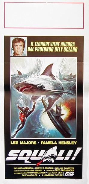 Sharks - Italian Movie Poster (thumbnail)