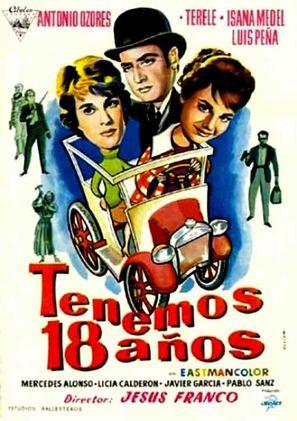Tenemos 18 años - Spanish Movie Poster (thumbnail)