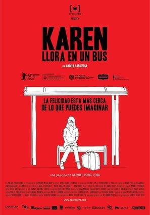 Karen llora en un bus - Colombian Movie Poster (thumbnail)