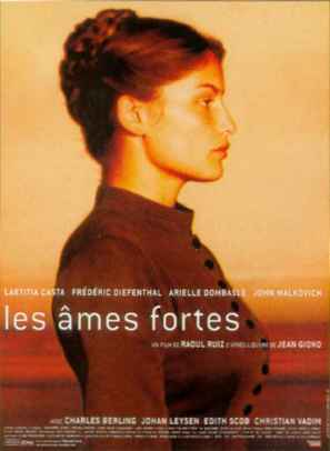 Les âmes fortes - French Movie Poster (thumbnail)