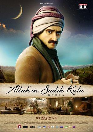God's Faithful Servant: Barla - Turkish Movie Poster (thumbnail)