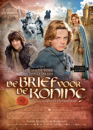 De brief voor de koning - Dutch Movie Poster (thumbnail)