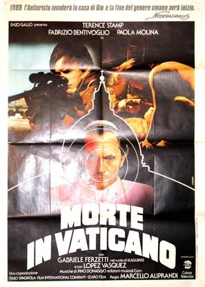 Morte in Vaticano - Italian Movie Poster (thumbnail)