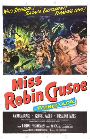 Miss Robin Crusoe - Movie Poster (thumbnail)