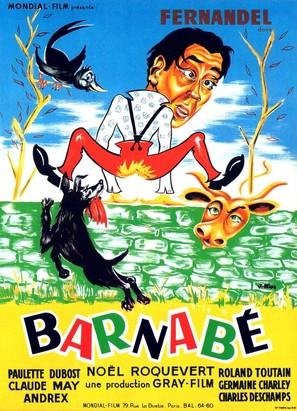 Barnabè - French Movie Poster (thumbnail)