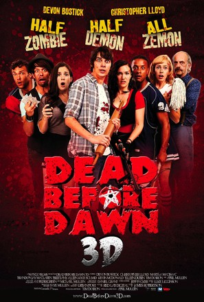 Dead Before Dawn 3D - Canadian Movie Poster (thumbnail)
