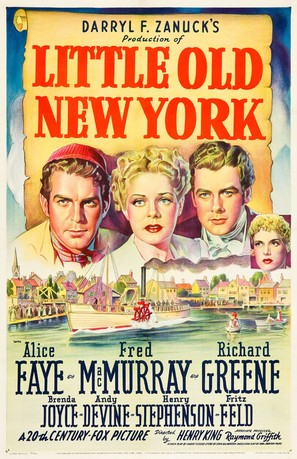Little Old New York - Movie Poster (thumbnail)