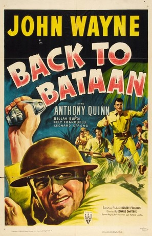 Back to Bataan - Movie Poster (thumbnail)