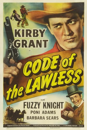 Code of the Lawless - Movie Poster (thumbnail)