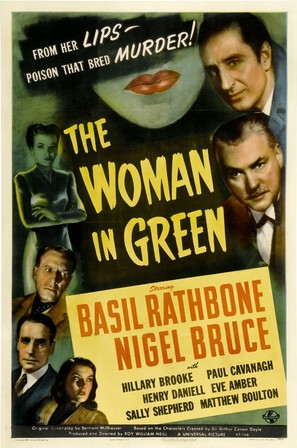 The Woman in Green - Movie Poster (thumbnail)