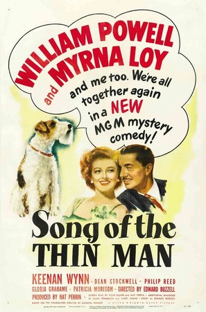 Song of the Thin Man - Theatrical poster (thumbnail)