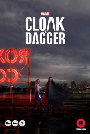 """Cloak & Dagger"" - Movie Poster (thumbnail)"