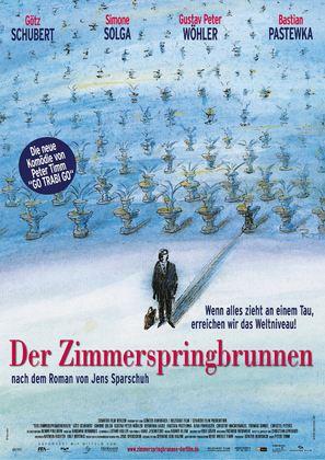 Der Zimmerspringbrunnen - German poster (thumbnail)