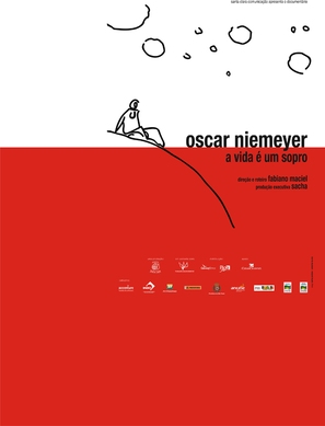 Oscar Niemeyer - A Vida É Um Sopro - Brazilian poster (thumbnail)