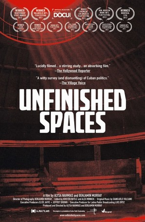 Unfinished Spaces - Movie Poster (thumbnail)