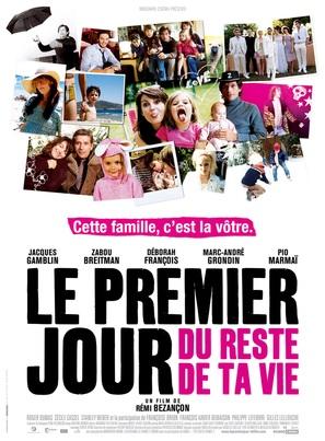 Le premier jour du reste de ta vie - French Movie Poster (thumbnail)