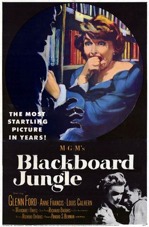 Blackboard Jungle - Movie Poster (thumbnail)