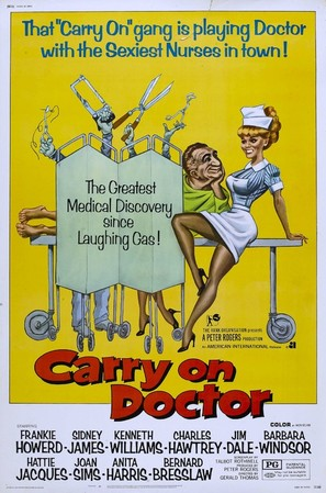Carry on Doctor - Movie Poster (thumbnail)