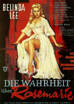 Die Wahrheit über Rosemarie - German Movie Poster (thumbnail)