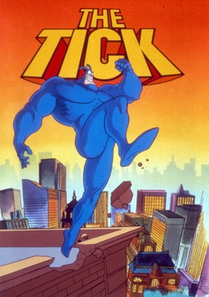 """""""The Tick"""" - DVD movie cover (thumbnail)"""