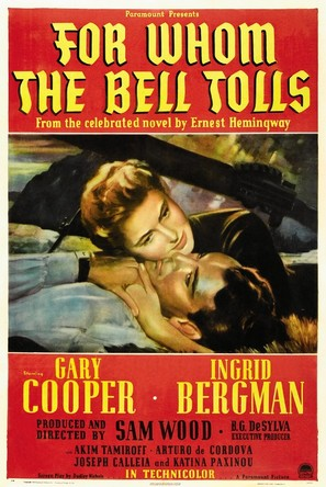 For Whom the Bell Tolls - Movie Poster (thumbnail)