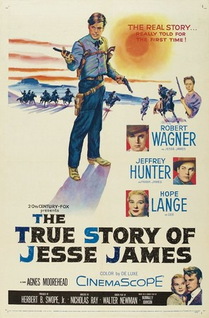 The True Story of Jesse James - Movie Poster (thumbnail)
