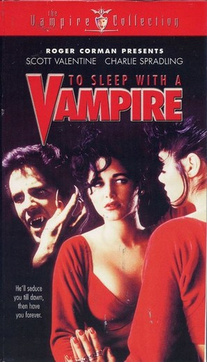 To Sleep with a Vampire - VHS movie cover (thumbnail)
