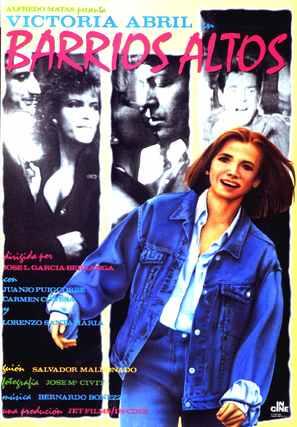 Barrios altos - Spanish poster (thumbnail)