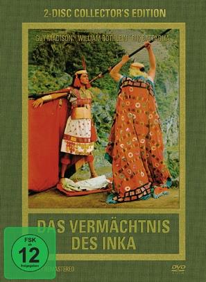 Das Vermächtnis des Inka - German Movie Cover (thumbnail)