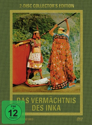 Das Vermächtnis des Inka - German Movie Cover (thumbnail)