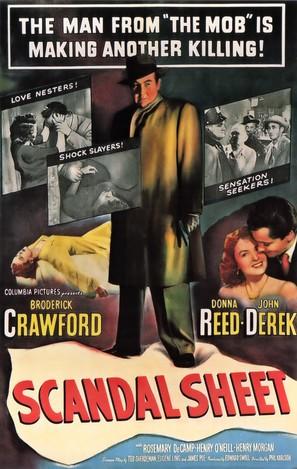 Scandal Sheet - Movie Poster (thumbnail)