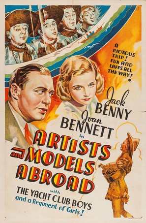 Artists and Models Abroad - Movie Poster (thumbnail)