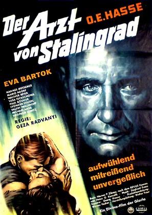 Der Arzt von Stalingrad - German Movie Poster (thumbnail)