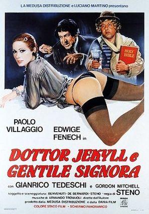 Dottor Jekyll e gentile signora - Italian Movie Poster (thumbnail)