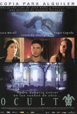 Oculto - Spanish Movie Cover (thumbnail)
