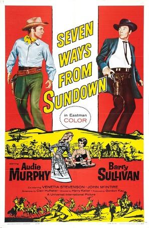 Seven Ways from Sundown - Movie Poster (thumbnail)