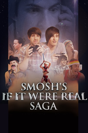 Smosh's If It Were a Real Saga - DVD movie cover (thumbnail)