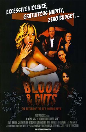 Blood & Guts - Movie Poster (thumbnail)