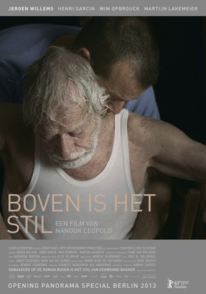Boven is het stil - Dutch Movie Poster (thumbnail)