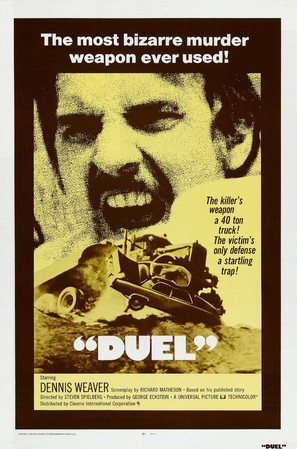 Duel - Theatrical movie poster (thumbnail)