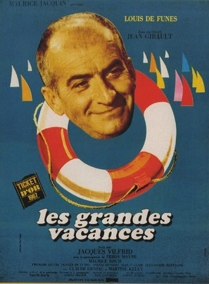 Les grandes vacances - French Movie Poster (thumbnail)