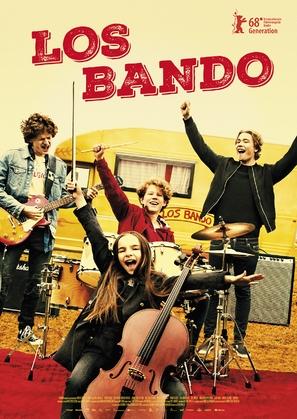 Los Bando - Norwegian Movie Poster (thumbnail)